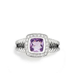 David Yurman Amethyst 'Albion' Petite Ring